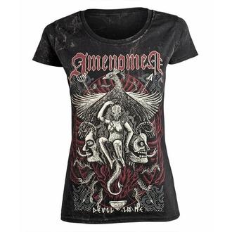 tričko dámské AMENOMEN - DEVIL IN ME, AMENOMEN