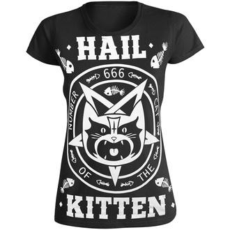 tričko dámské AMENOMEN - HAIL KITTEN, AMENOMEN