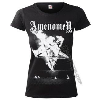 tričko dámské AMENOMEN - PENTAGRAM BURN, AMENOMEN