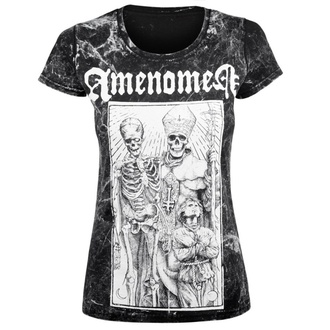 tričko dámské AMENOMEN - POPE AND DEATH, AMENOMEN