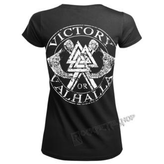 tričko dámské VICTORY OR VALHALLA - ODIN, VICTORY OR VALHALLA