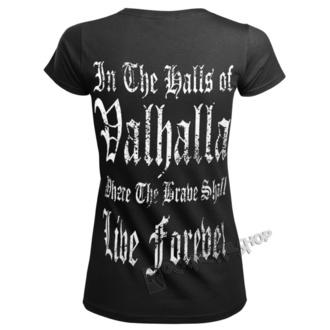 tričko dámské VICTORY OR VALHALLA - VIKING WARRIOR, VICTORY OR VALHALLA