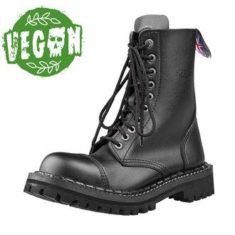 boty STEADY´S - 10 dírkové - Vegan black, STEADY´S