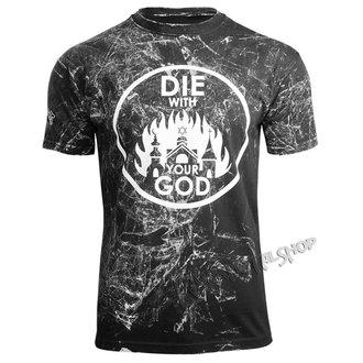 tričko pánské AMENOMEN - DIE WITH YOUR GOD - WHITE, AMENOMEN