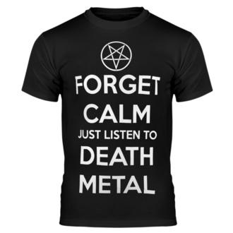 tričko pánské AMENOMEN - FORGET CALM JUST LISTEN TO DEATH METAL, AMENOMEN