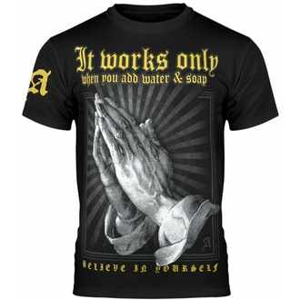 tričko pánské AMENOMEN - IT WORKS ONLY..., AMENOMEN