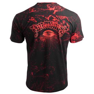 tričko pánské AMENOMEN - PENTAGRAM - RED, AMENOMEN