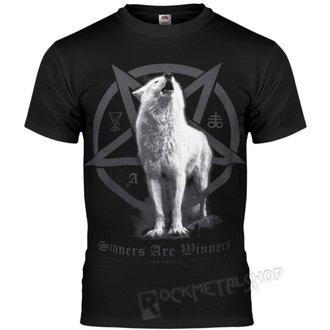 tričko pánské AMENOMEN - WHITE WOLF, AMENOMEN