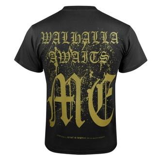 tričko pánské VICTORY OR VALHALLA - CROW SKULL, VICTORY OR VALHALLA