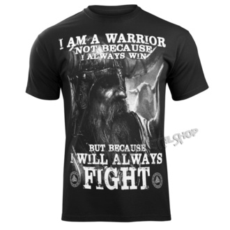 tričko pánské VICTORY OR VALHALLA - I AM A WARRIOR, VICTORY OR VALHALLA