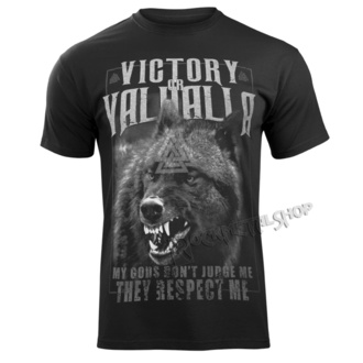 tričko pánské VICTORY OR VALHALLA - MY GODS..., VICTORY OR VALHALLA