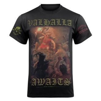 tričko pánské VICTORY OR VALHALLA - THOR'S FIGHT, VICTORY OR VALHALLA