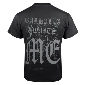 tričko pánské VICTORY OR VALHALLA - VIKING SHIELD, VICTORY OR VALHALLA