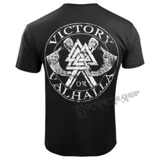 tričko pánské VICTORY OR VALHALLA - VIKING SKULL, VICTORY OR VALHALLA