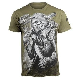 tričko pánské ALISTAR - Stalker - Khaki - KALIS-144