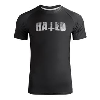 tričko pánské (technické) HOLY BLVK - RASHGUARD - HATED - HB030