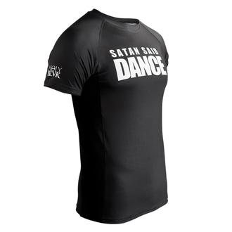 tričko pánské (technické) HOLY BLVK - RASHGUARD SATAN SAID DANCE, HOLY BLVK