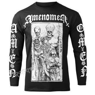 tričko pánské s dlouhým rukávem AMENOMEN - POPE AND DEATH, AMENOMEN