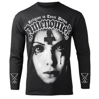tričko pánské s dlouhým rukávem AMENOMEN - RELIGION IS TOXIC DETOX, AMENOMEN