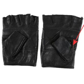 rukavice kožené OSX - DEMON - POŠKOZENÉ, OSX