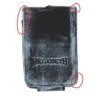 pouzdro na MP3 přehrávač Megadeth - BIOWORLD - POŠKOZENÉ, BIOWORLD, Megadeth
