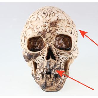 dekorace (krabička) Celtic Skull - POŠKOZENÁ, NNM