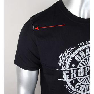 tričko pánské ORANGE COUNTY CHOPPERS - Circle Stamp - Black - POŠKOZENÉ, ORANGE COUNTY CHOPPERS