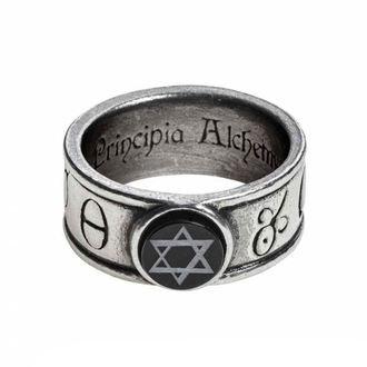 prsten ALCHEMY GOTHIC - Principia Alchemystica - R229