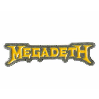 připínáček MEGADETH - LOGO - RAZAMATAZ, RAZAMATAZ, Megadeth