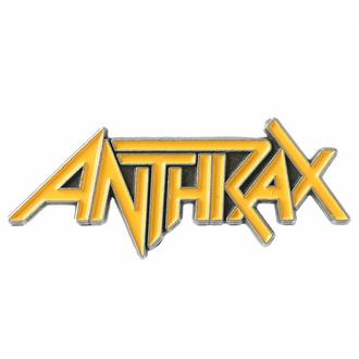 připínáček ANTHRAX - LOGO - RAZAMATAZ, RAZAMATAZ, Anthrax