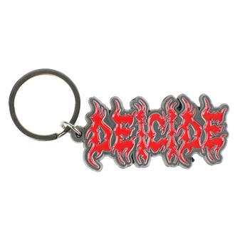 klíčenka (přívěšek) Deicide - Logo - RAZAMATAZ, RAZAMATAZ, Deicide
