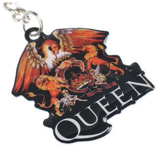 klíčenka (přívěšek) Queen - Crest - RAZAMATAZ, RAZAMATAZ, Queen