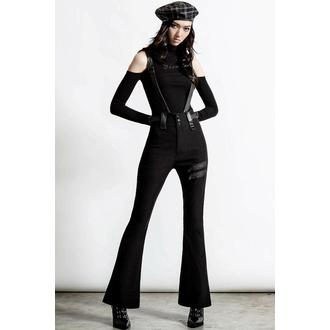 kalhoty dámské KILLSTAR - Prophet Of Doom Suspender - BLACK, KILLSTAR