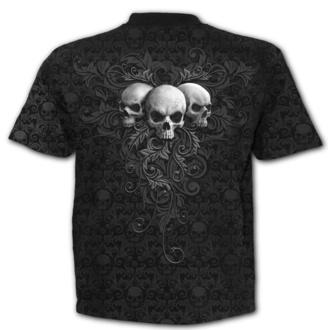 tričko pánské SPIRAL - SKULL SCROLL, SPIRAL