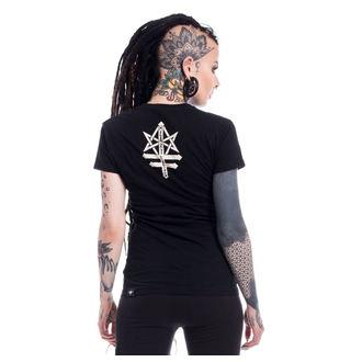 tričko dámské Heartless - PSYCHO WITCH - BLACK, HEARTLESS