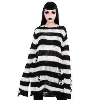svetr unisex KILLSTAR - Pugsley Knit - BLACK, KILLSTAR