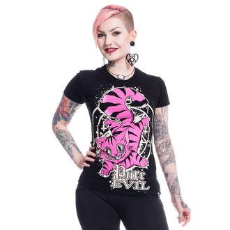 tričko dámské Cupcake cult - PURR EVIL - BLACK, CUPCAKE CULT
