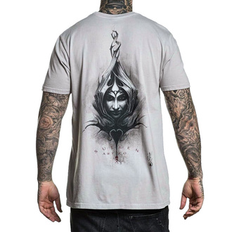 tričko pánské SULLEN - WINGED QUEEN - WASHED GRAY - SCM2412_WGRY