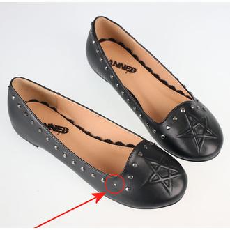 boty dámské (baleríny) BANNED - BND229BLK - POŠKOZENÉ - MA446