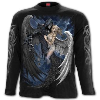 tričko pánské s dlouhým rukávem SPIRAL - FALLEN - Black, SPIRAL