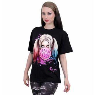 tričko unisex SPIRAL - Harley Quinn - MAD LOVE - Black, SPIRAL