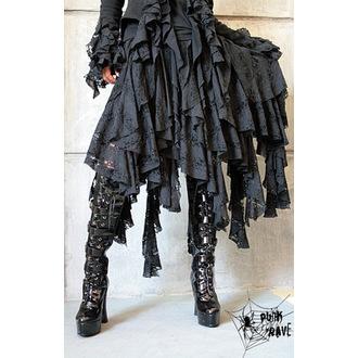 sukně dámská PUNK RAVE - Decadence, PUNK RAVE