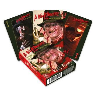 hrací karty Noční můra z Elm Street - Freddy, NNM, Noční můra z Elm Street