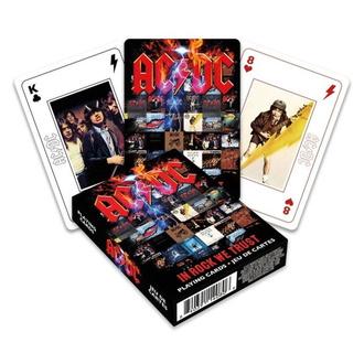 hrací karty AC/DC - In Rock We Trust, NNM, AC-DC