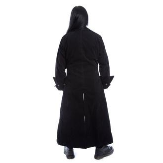 kabát pánský POIZEN INDUSTRIES - QUENTIN - BLACK VELVET, POIZEN INDUSTRIES