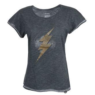 tričko dámské Liga spravedlivých - FLASH - ANTRACITE