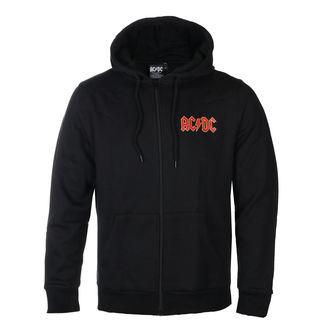 mikina pánská AC/DC - Logo - ROCK OFF, ROCK OFF, AC-DC