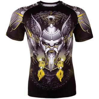 tričko pánské (termo) Venum - Viking 2.0 Rashguard - Black/Yellow, VENUM