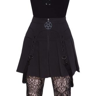 sukně dámská KILLSTAR - Ravi Skirt - Black, KILLSTAR