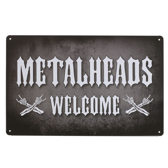 cedule Metalheads Welcome - Rockbites - 102002